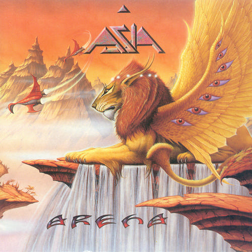 Asia - Arena CD (album) cover