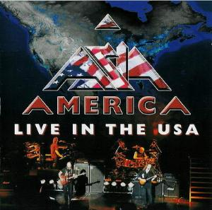 Asia America - Live In The Usa album cover