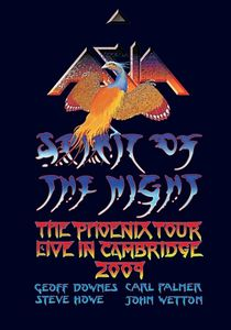 Asia Spirit Of The Night - The Phoenix Tour - Live in Cambridge 2009 album cover