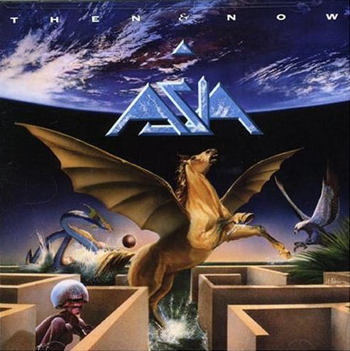 Asia - Then & Now  CD (album) cover
