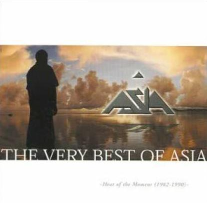 Asia - Heat of the Moment: The Very Best of Asia 1982-1990 CD (album) cover