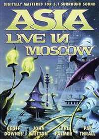 Asia - Live In Moscow 1990 (DVD) CD (album) cover