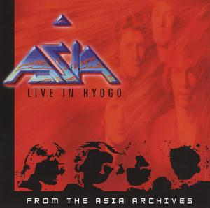 Live in Hyogo  by ASIA album cover