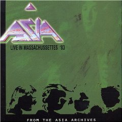 Asia - Live in Massachusetts '83  CD (album) cover
