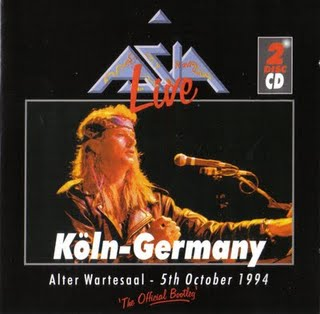 Asia - Live In Koln  CD (album) cover