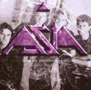 Asia Live In Nottingham album cover