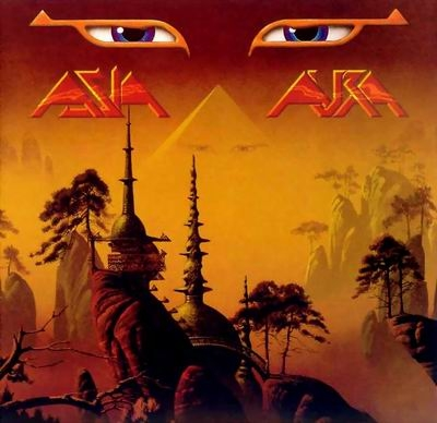 Asia - Aura CD (album) cover
