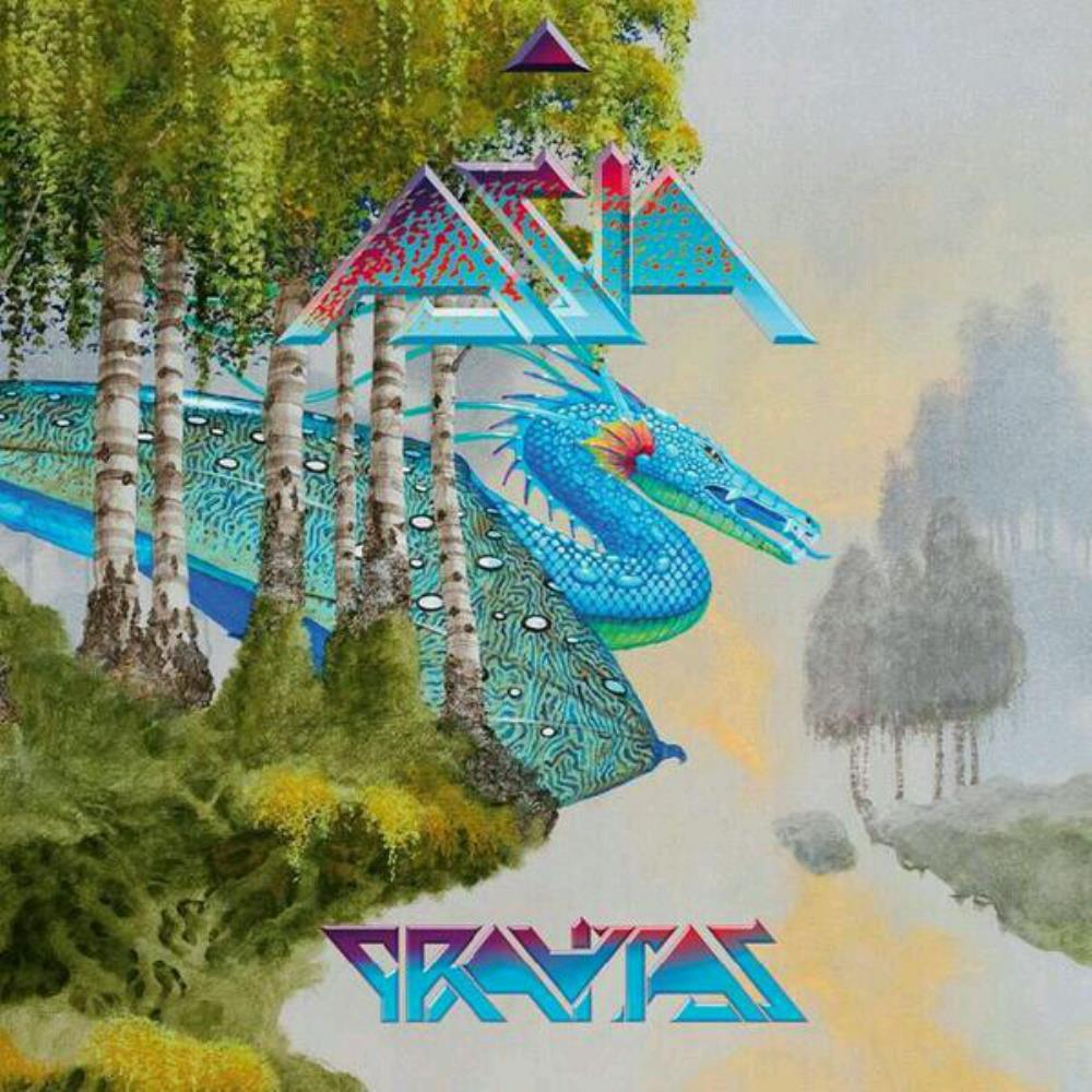 Asia - Gravitas CD (album) cover