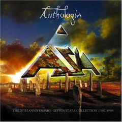 Asia - Anthologia - 20th Anniversary Geffen Years Collection 1982-1990 by ASIA album cover
