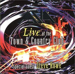 Asia Live At The Town & Country Club album cover