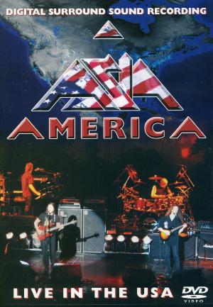Asia America: Live in the USA (DVD) album cover