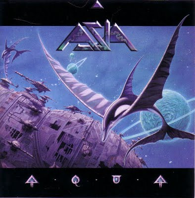 Asia - Aqua CD (album) cover