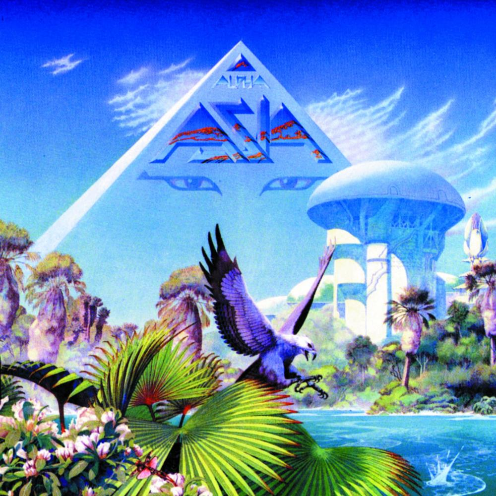 Alpha by ASIA album cover