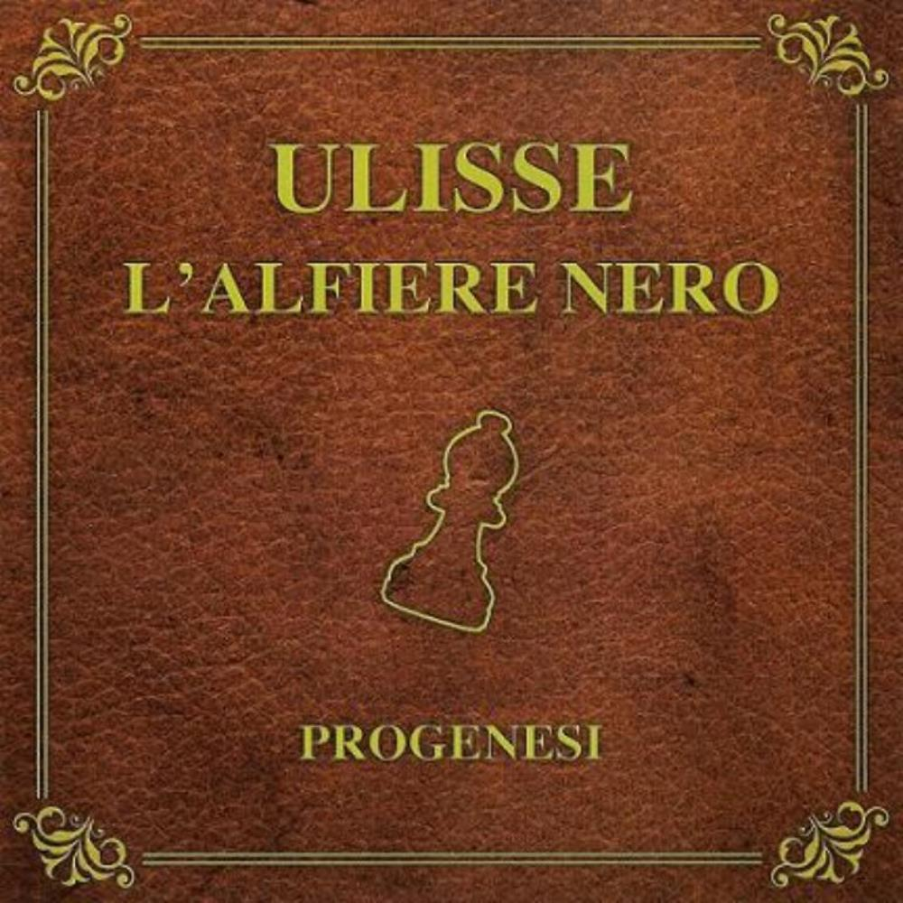Progenesi - Ulisse - L'Alfiere Nero CD (album) cover