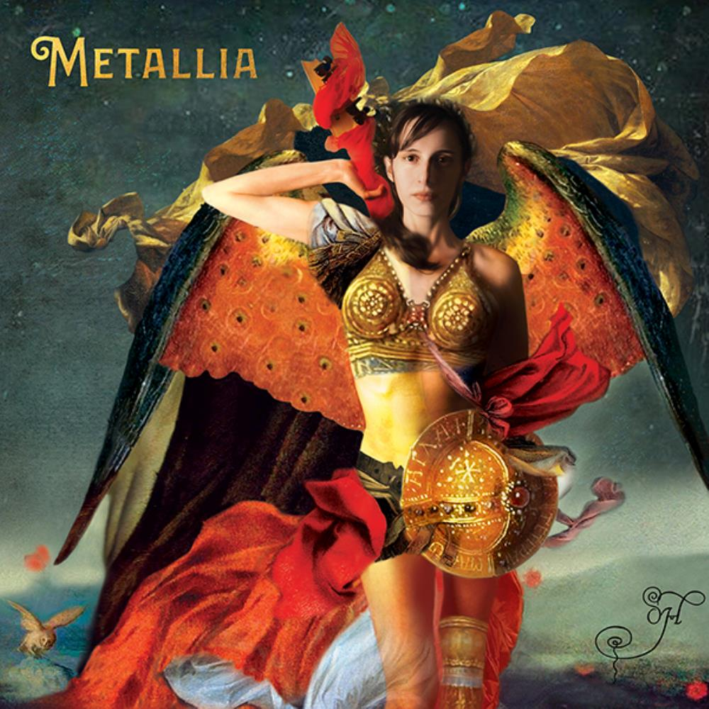 OH. - Metallia CD (album) cover