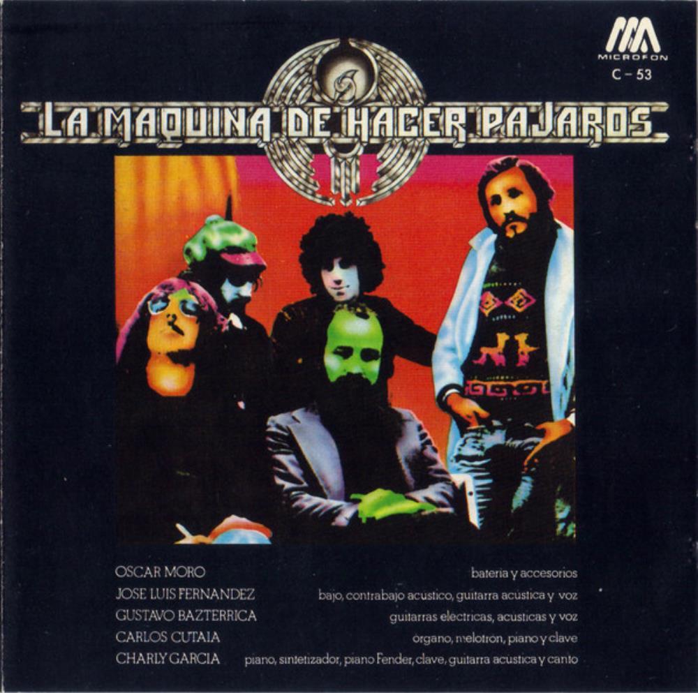 La Máquina De Hacer Pájaros by MÁQUINA DE HACER PÁJAROS, LA album cover