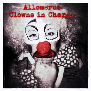 Allomerus Clowns In Charge album cover
