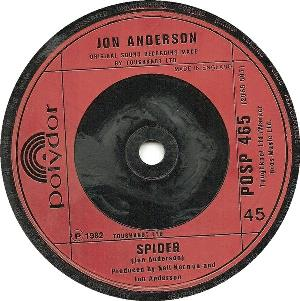 All In A Matter Of Time / Spider by ANDERSON, JON album cover