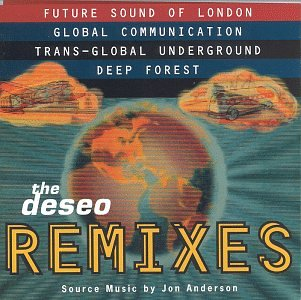 The Deseo Remixes by ANDERSON, JON album cover