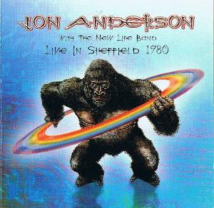 Jon Anderson Live In Sheffield 1980 album cover