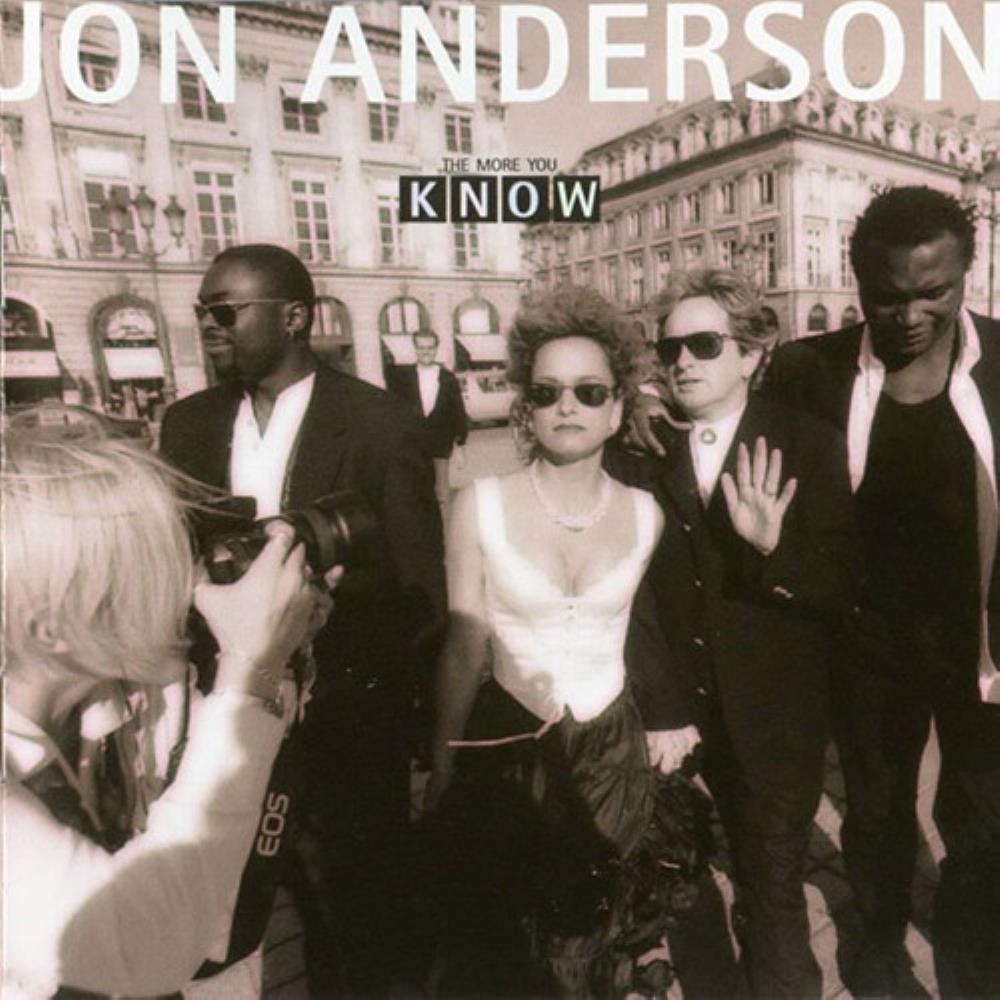 Jon Anderson - The More You Know CD (album) cover