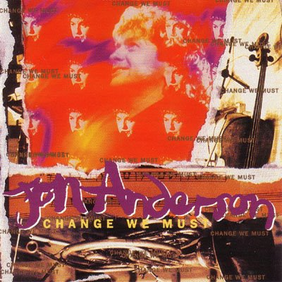 Jon Anderson Change We Must album cover