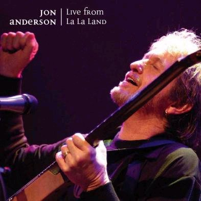 Jon Anderson - Live From La La land CD (album) cover