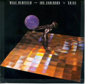 Jon Anderson Shine - Mike Oldfield with Jon Anderson album cover