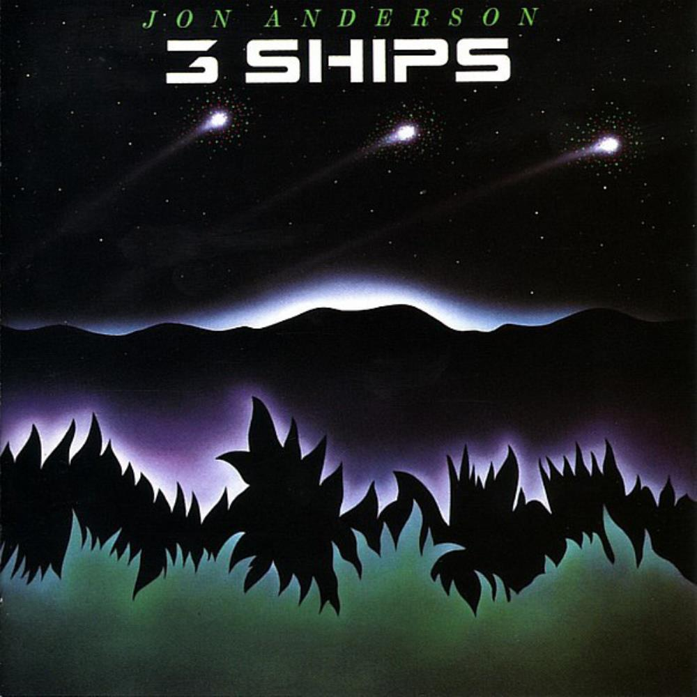 Jon Anderson - 3 Ships CD (album) cover