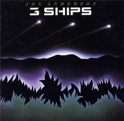 Jon Anderson - Three Ships CD (album) cover