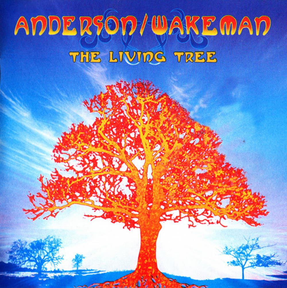 Jon Anderson - Anderson / Wakeman: The Living Tree CD (album) cover