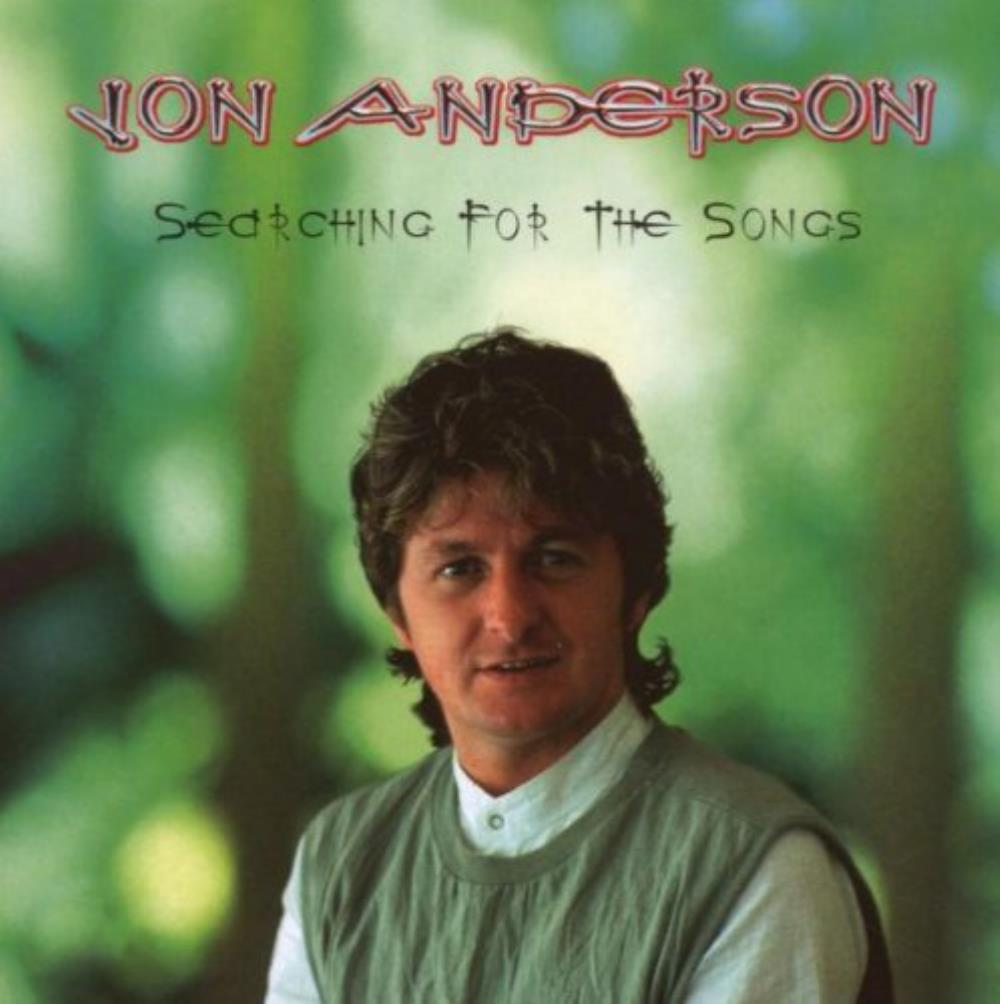 Jon Anderson Searching For The Songs album cover