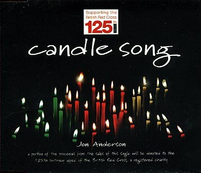 Jon Anderson Candle Song album cover