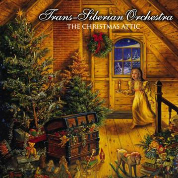 The Christmas Attic  by TRANS-SIBERIAN ORCHESTRA album cover