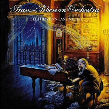 Trans-Siberian Orchestra - Beethoven's Last Night CD (album) cover