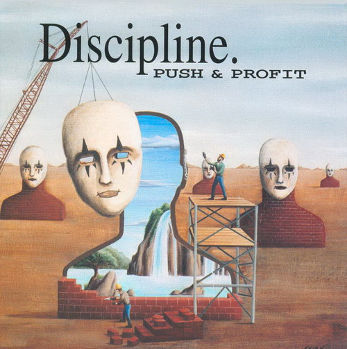 Discipline - Push & Profit CD (album) cover