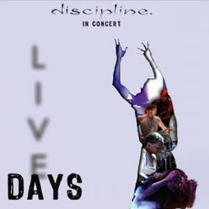 Discipline - Live Days CD (album) cover