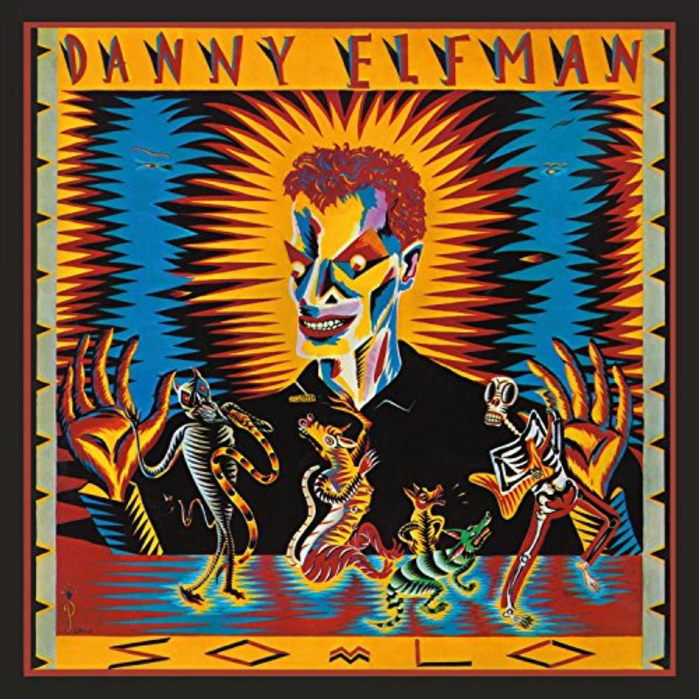 Oingo Boingo Danny Elfman: So-Lo album cover