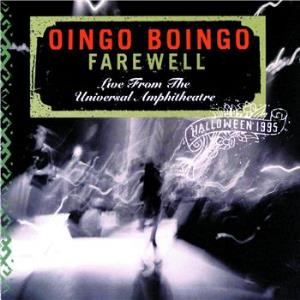 Farewell by OINGO BOINGO album cover