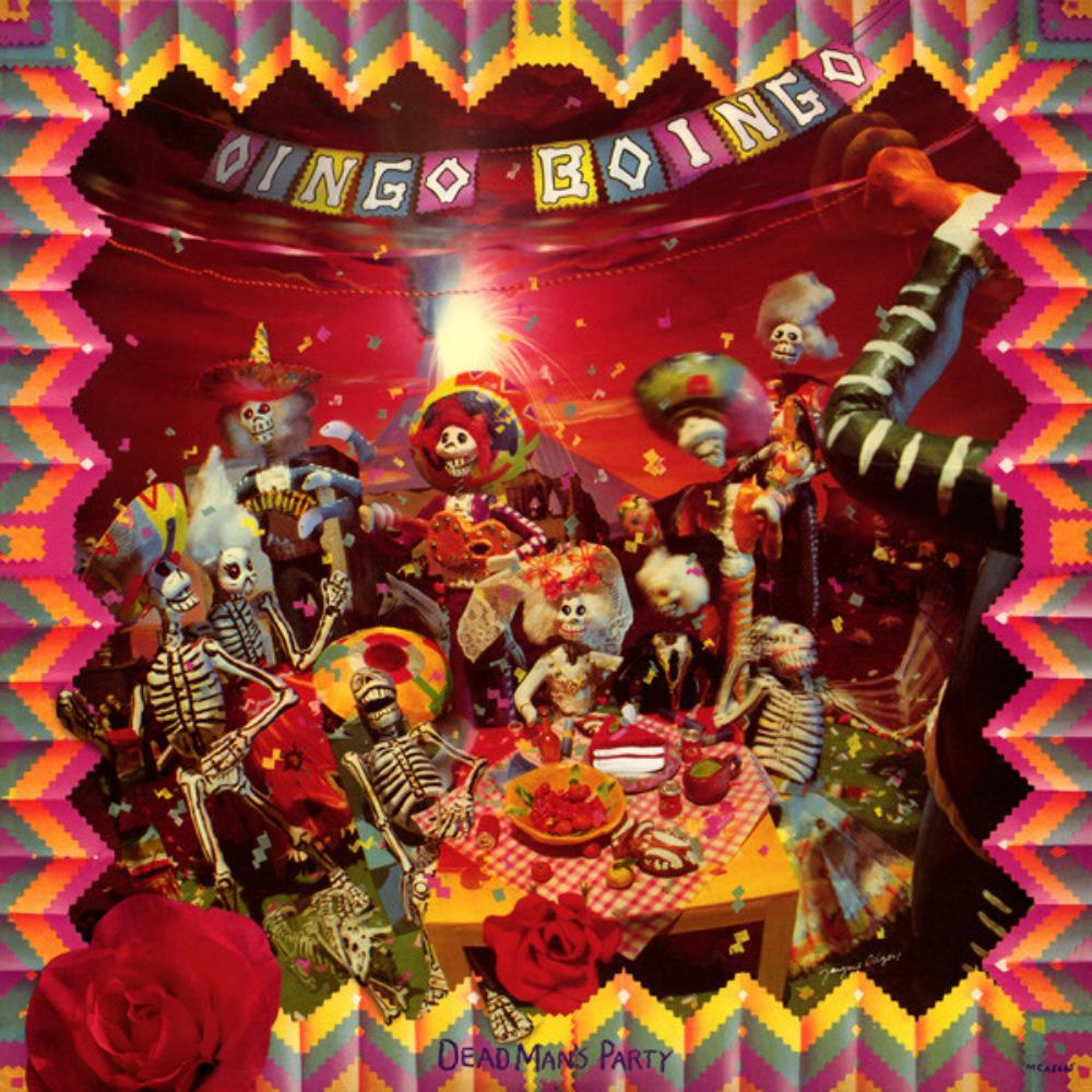 Oingo Boingo Dead Man's Party album cover