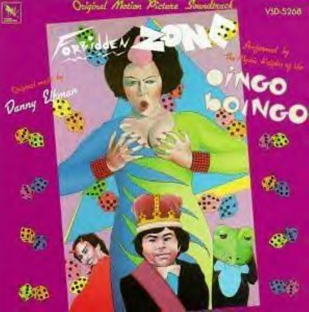 Forbidden Zone (OST as Danny Elfman and The Mystic Knights of the Oingo Boingo) by OINGO BOINGO album cover