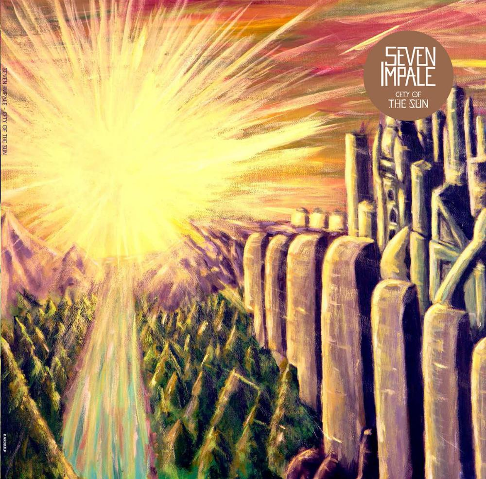 City Of The Sun by SEVEN IMPALE album cover