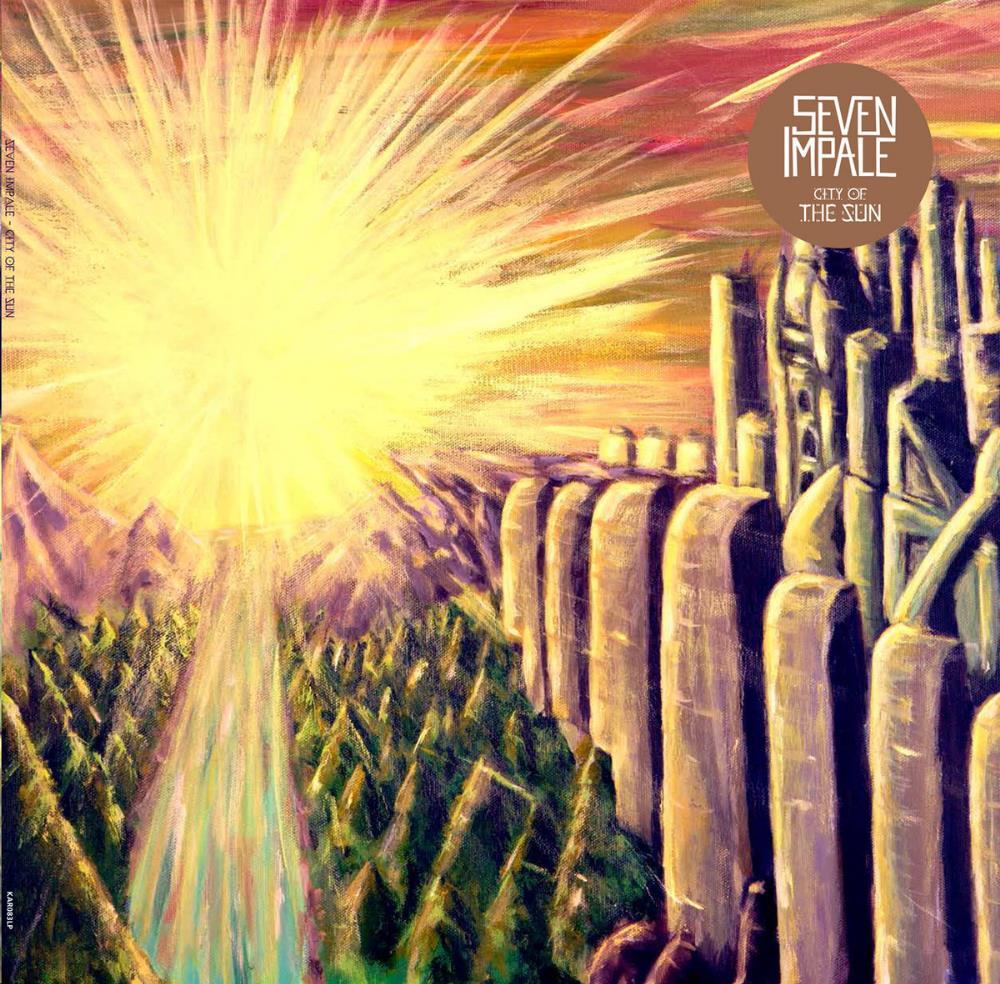 City Of The Sun by SEVEN IMPALE album cover