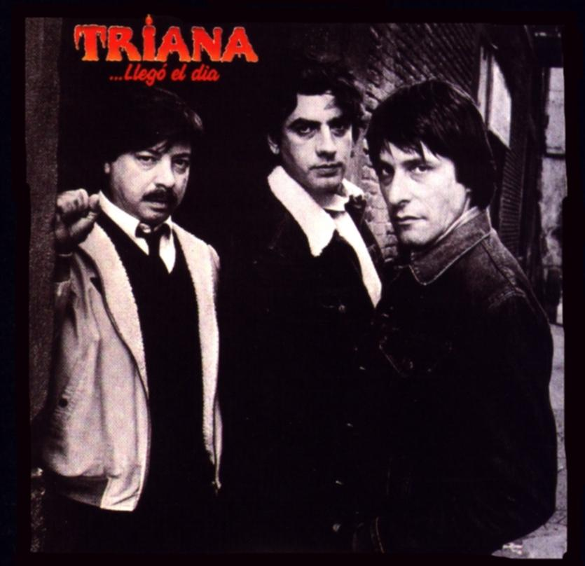 Triana - Lleg� El Dia CD (album) cover