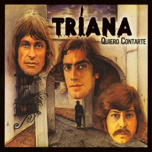 Triana Quiero Contarte album cover