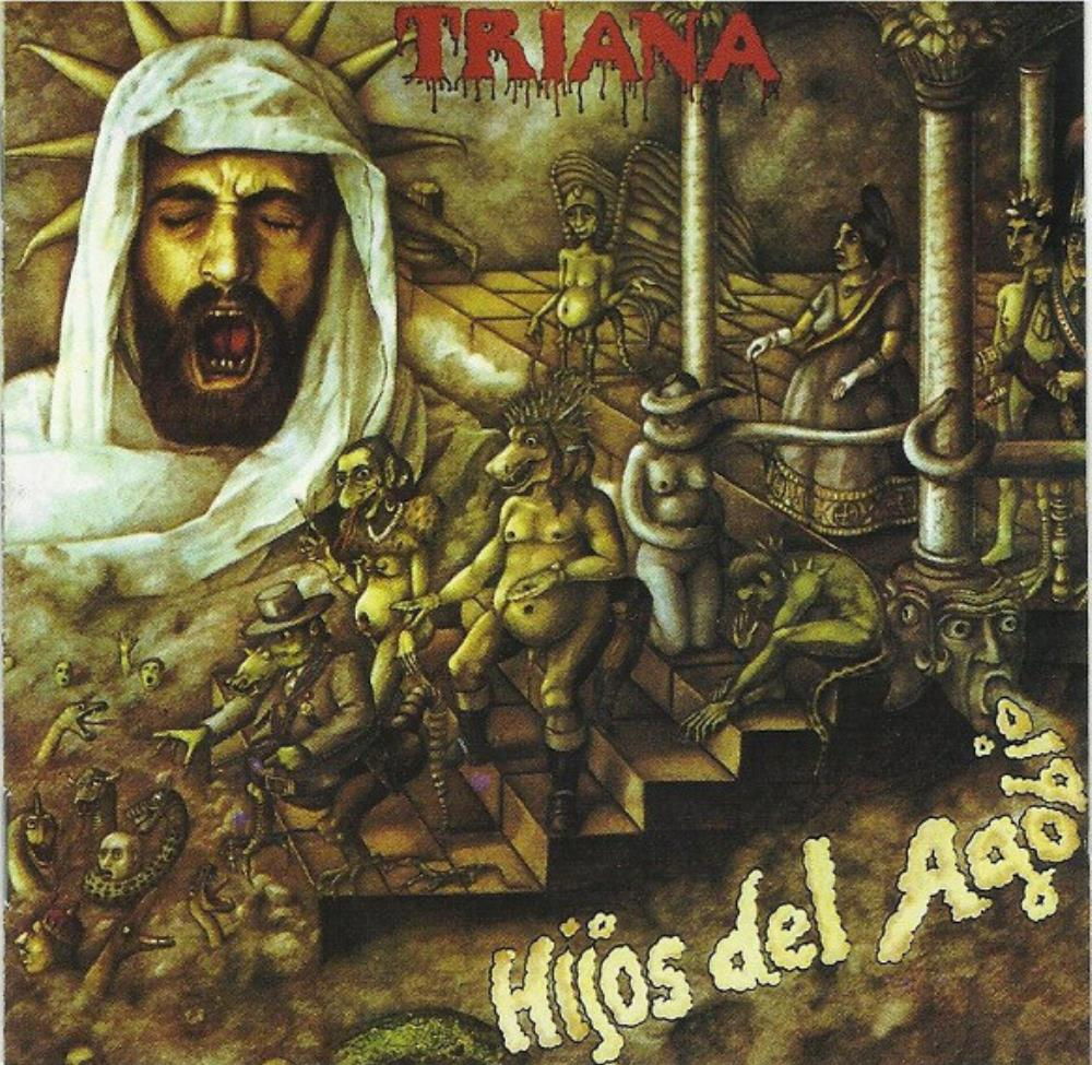 Hijos Del Agobio by TRIANA album cover