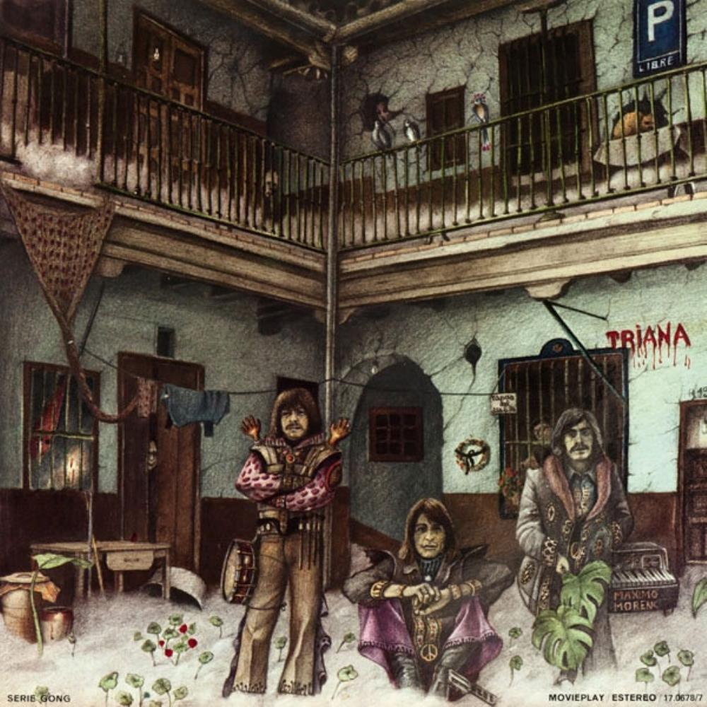Triana - Triana (El Patio) CD (album) cover