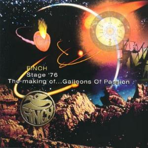 Finch - The Making Of... Galleons Of Passion / Stage '76 CD (album) cover