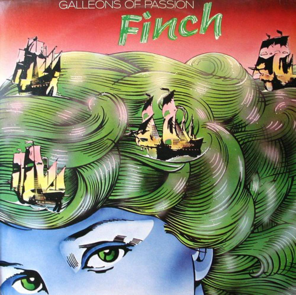 Galleons Of Passion by FINCH album cover