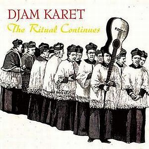 Djam Karet - The Ritual Continues CD (album) cover